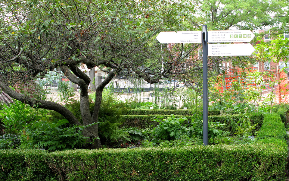 Queens Botanical Garden Bluestone Associates